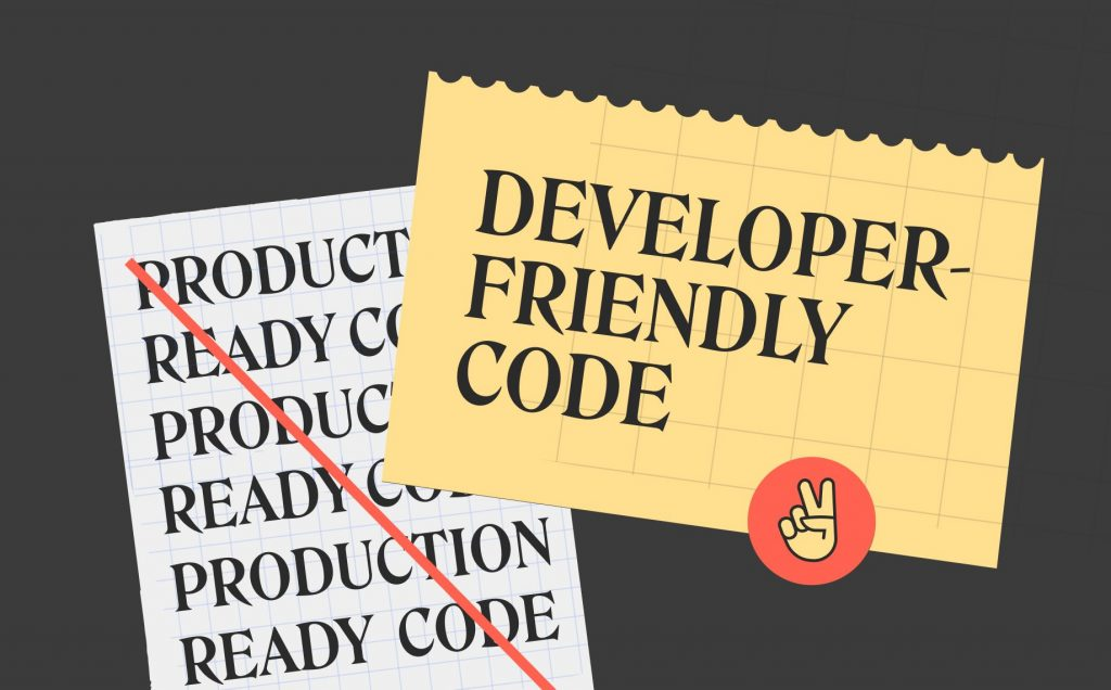 Solving the 'production-ready' code dilemma