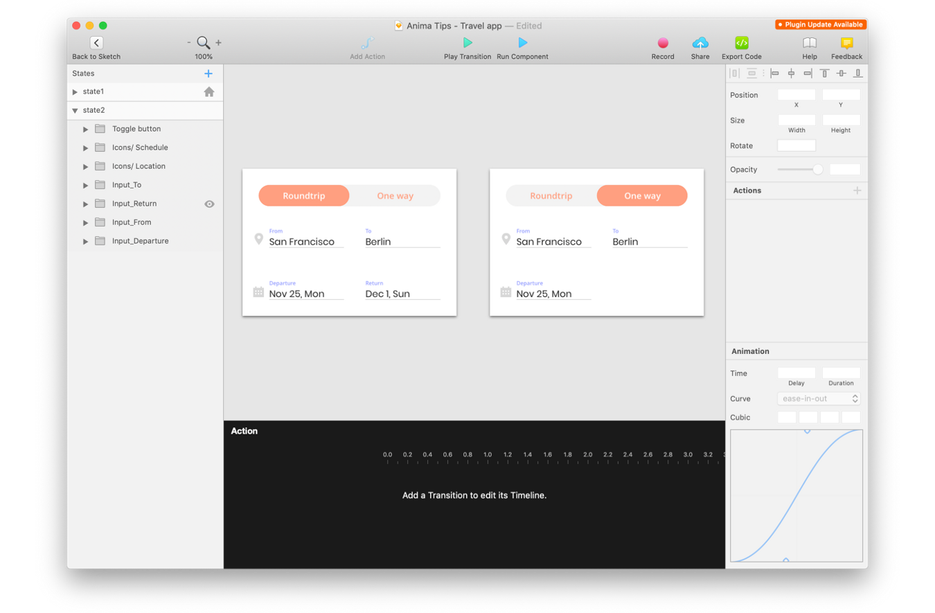 Edit the 2nd state of the interaction (Creating interactions on Sketch with Anima)