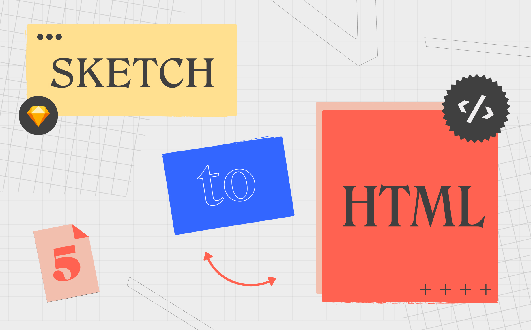 How to export Sketch to HTML