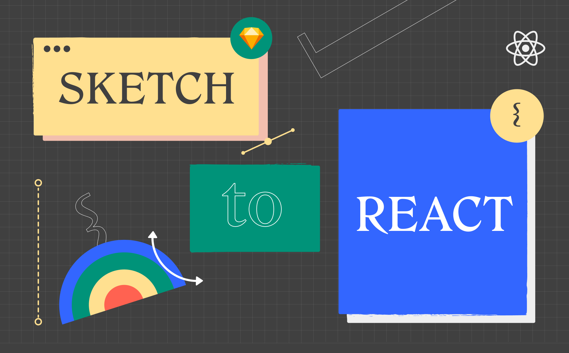 How to export Sketch to React