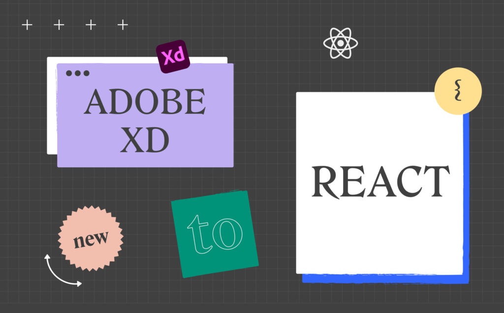 How to export Adobe XD to React code